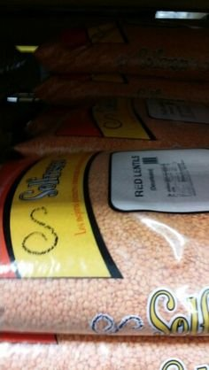 Solfresco Red Lentils 25 Lb by Solfresco