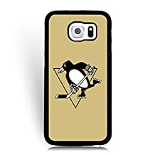 Beauty Charm Samsung Galaxy S6 Phone Case Pittsburgh Penguins Series, Galaxy S6 Case for Men -NHL
