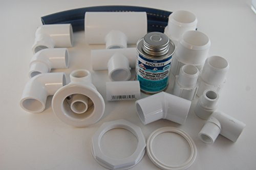 Jacuzzi BMH repair kit with flex glue oyster HC119969 by Jacuzzi