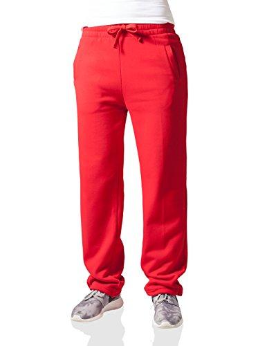 Urban Classics Umstand Pantalon de sport large pour femme rouge