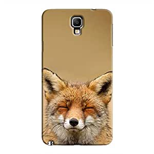 Cover It Up - Content Fox Galaxy Note 3 Neo Hard Case