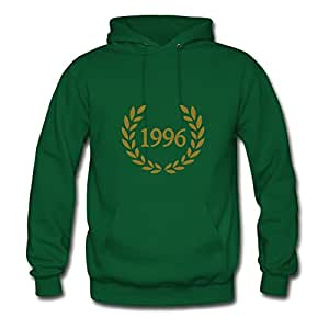 Women Hoodies 1996 Designed For Elegent Hoodies-green X-large