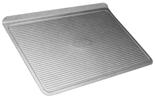 USA Pan (1030LC) Bakeware Cookie Sheet, Large, Warp Resistant Nonstick Baking Pan, Made in the USA from Aluminized Steel -