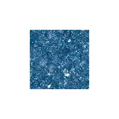 Hearth Products Controls (HPC 1/4 Inch Decorative Fire Glass (FPGLPACBLUEREF), 10 Pounds, Pacific Blue Reflective (Pacific Fire Glass Blue)