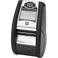 Zebra QN2-AUCA0M00-00 2-inch Direct Thermal Mobile Printer - Bluetooth - Black (Certified Refurbished)