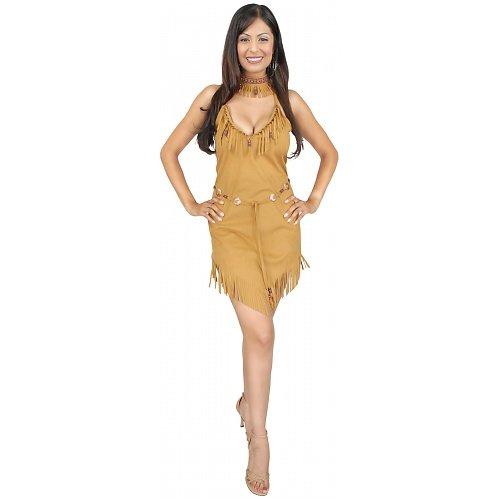 [Pocahontas Costume Adult Native American Indian (Medium)] (Pocahontas Costumes For Adults)