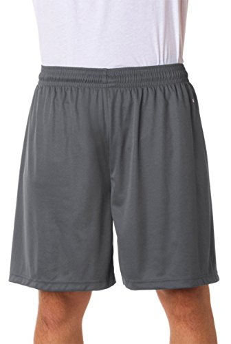 Badger Mens B-Core 7 Performance Shorts (BD4107) -GRAPHITE -L
