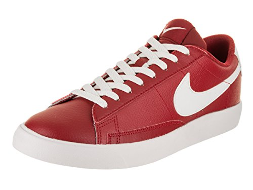 Nike Blazer Low Leather Men's Shoes Red/White aj9515-600 (12 D(M) US) ()