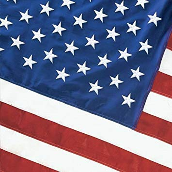 Valley Forge American Flag 5ft x 8ft Cotton Best Brand by Valley Forge