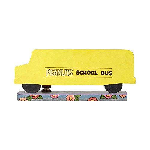 Enesco Peanuts by Jim Shore Peanuts School Bus
