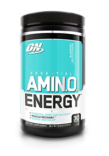Optimum Nutrition Amino Energy, Blueberry Mojito, 30 Servings