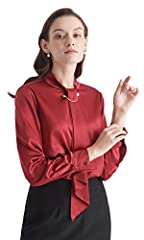 Shop LilySilk womens silk blouse. Find more style silk blouses and silk shirts from our store, such as v neck silk blouse, silk floral blouse, silk charmeuse blouse, vintage silk blouse or silk tie blouse.This Mulberry silk blouse is composed...