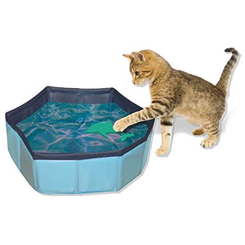 Croci Juego para Gatos Piscina, 30 x 10 cm
