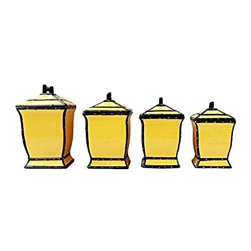 Yellow Canister Set: Amazon.com
