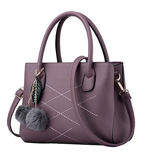 Mode Mère Sacoche tout Loisirs Femmes À Dames Messager Bandoulière Fourre Pu Purple Main Sac qgwISwUv