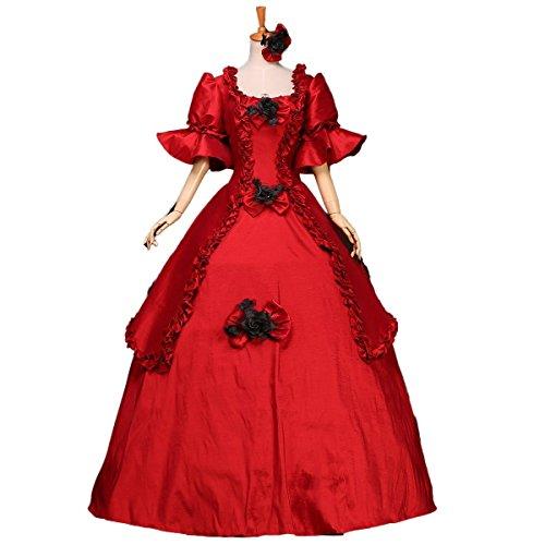 lady antebellum red dress - 3