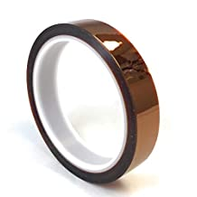 """APT, 1 mil Thick Kapton Polyimide Adhesive Tape, high Temperature Tape, 0.75"""" x 36Yds"""