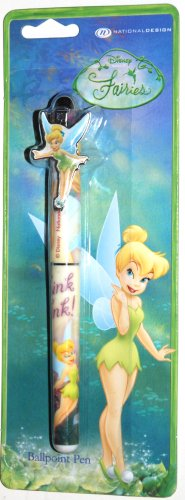 (Disney Fairies, Tinker Bell Design 1 - Ballpoint Pen 5 1/2