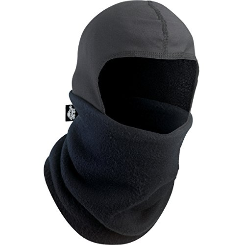 Turtle Fur Shellaclava Fleece Balaclava, Black, One (Snowmobile Fleece)