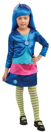 Rubies Strawberry Shortcake and Friends Deluxe Blueberry Muffin Costume, Toddler