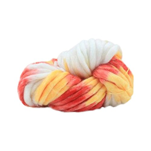 Chunky Yarn ,Vanvler Soft Wool Roving Bulky ❤️ Arm Knitting Wool DIY - Felt Chunky
