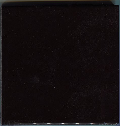 About 4x4 Ceramic Tile Black 568 Brite Summitville Vintage Field Bath -Sample-L, Kitchen, Bathroom, Wall Tile, Ceramic Tile, Replacement