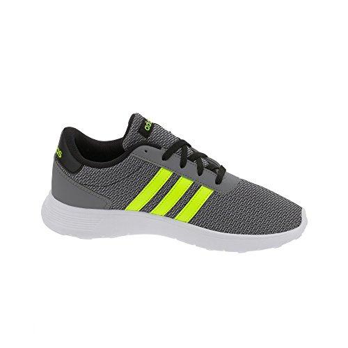 adidas Lite Racer K, Scarpe da Ginnastica Unisex – bambini, Nero (Negbas/Amasol/Onicla), 38 EU