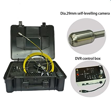 Sewer Camera For Sale >> 29mm Self Level Sewer Camera For Sale With 8 Inch Screen Monitor And
