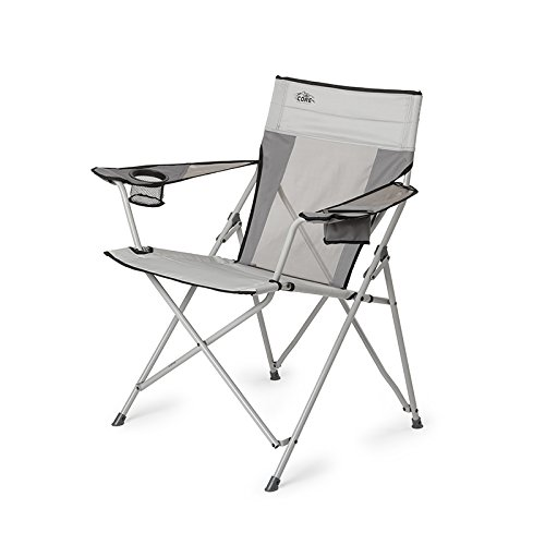 Price comparison product image Core Equipment Tension Chair with Carry Bag, Gray