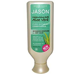 Jason Natural Moisturizing 84% Aloe Vera Shampoo & Conditioner (16oz ea)