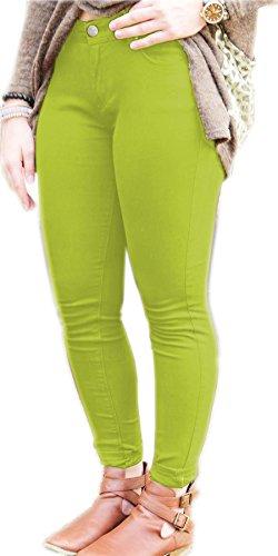 Pomme Femme noir Inc Jeans Vanilla taille unique Vert qB804vBwxW