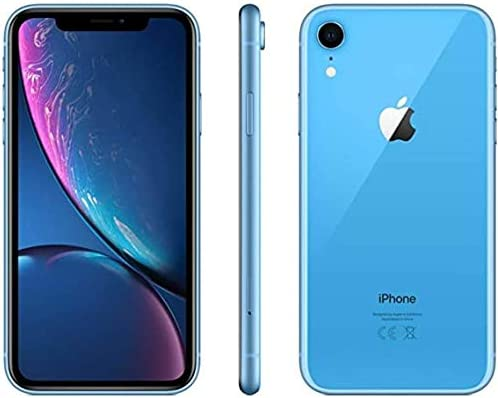 Amazon Com Apple Iphone Xr 64gb Blue Fully Unlocked Renewed