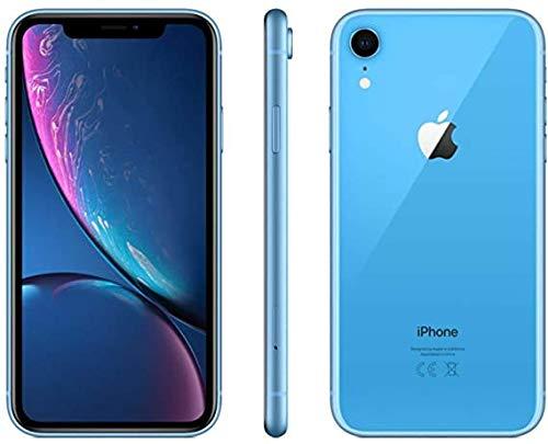 Apple iPhone XR, 64GB, Blue - For Verizon (Renewed)