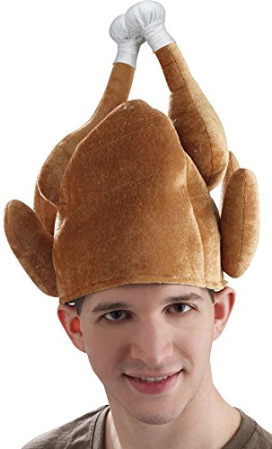 Forum Novelties Roasted Turkey Hat for Adults - One Size for $<!--$2.99-->