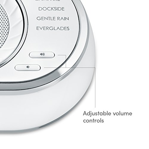 Ultra-Portable | 12 Relaxing Sleep Sounds, Auto-Off | & Travel, | SoundSpa