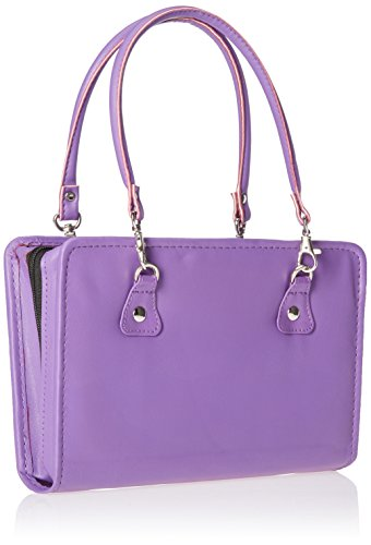 Knitter's Pride Thames Faux Leather Bag, Purple by Knitter's Pride (Image #2)