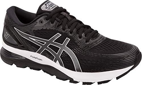 ASICS Gel-Nimbus 21 Men's Running Shoe, Black/Dark Grey, 11 D US ()