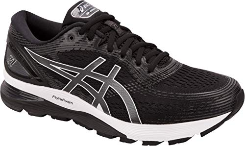 ASICS Gel-Nimbus 21 Men's Running Shoe, Black/Dark Grey, 6.5 D US by ASICS (Image #4)