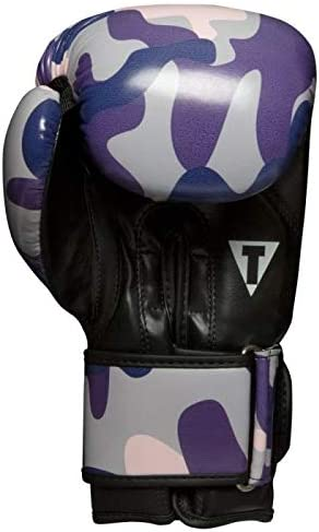 Purple//Camo Small Title Boxing Passion Bag Gloves
