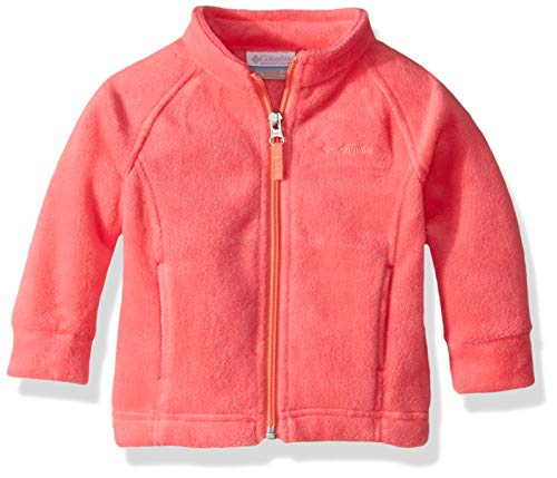 Columbia Baby Benton Springs Fleece, Bright Geranium/hot Coral, 18/24 ()
