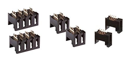 AUTONICS CNE-B04 Board mount socket, 4pin, 1 Line