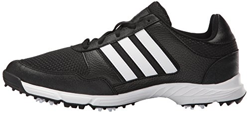 adidas Mens Tech Response Cblack Ftww Golf Shoe  Black