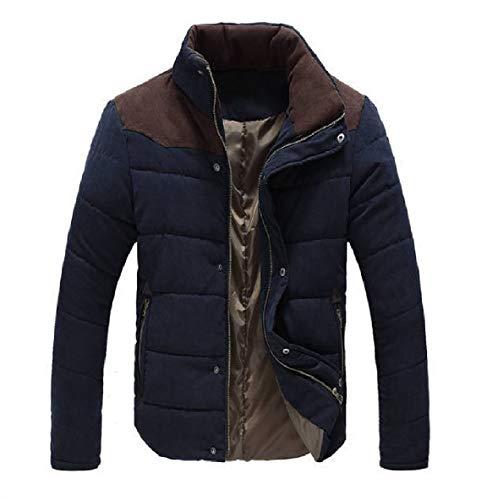Cotton Color Mens Fleece Zipper XINHEO 1 Jacket Turtleneck Leisure Spell Thicken Z7qwWEP