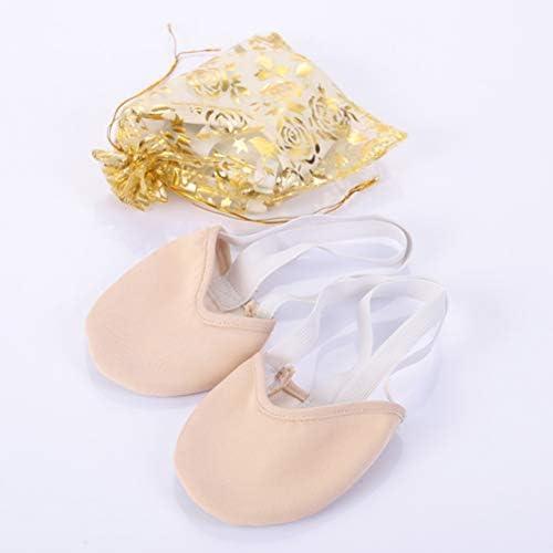 Healifty Calcetines Antideslizantes para Ballet y Yoga Suelo para Zapatos de Bailarinas de Ballet y Competici/ón de Gimnasia R/ítmica Talla XS Blanco