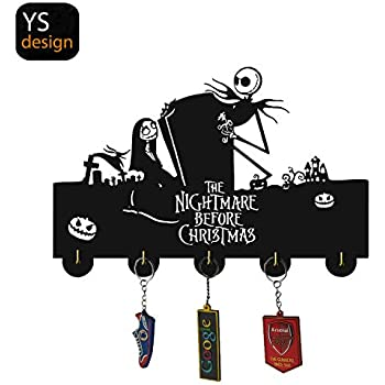 Amazon.com: The Nightmare Before Christmas Ganchos para ...