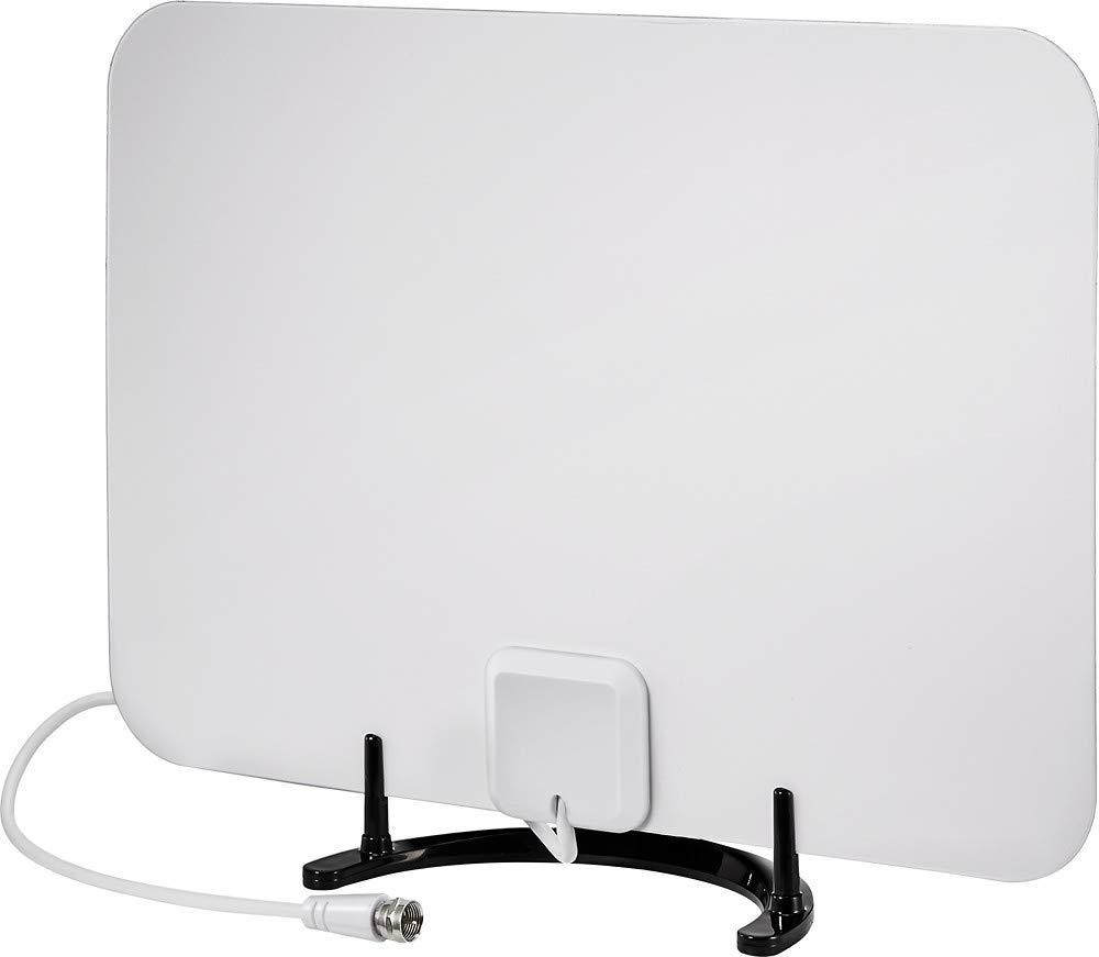 Rocketfish Ultra fino HDTV Antena Reversible rf-ant316 negro/blanco: Amazon.es: Electrónica