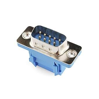 Serie de conector - Cable cinta (Hombre, 9-pin)