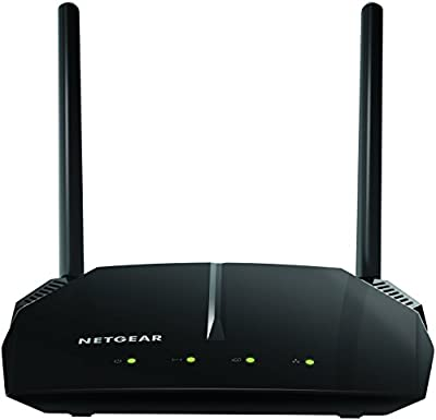 NETGEAR AC1200 Dual Band Smart WiFi Router, Fast Ethernet (R6120) from Netgear Inc