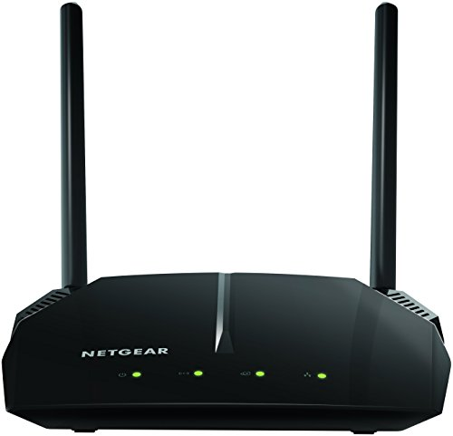 NETGEAR WiFi Router (R6120) - AC1200 Dual Band Wireless Speed (up to 1200 Mbps) | Up to 1200 sq ft Coverage & 20 Devices | 4 x 10/100 Fast Ethernet -