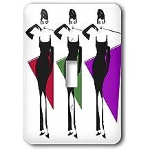 3dRose RinaPiro Audrey Hepburn - Audrey Hepburn. British actress. Fashion Icon. Screen legend. - Light Switch Covers - single toggle switch (lsp_273569_1)